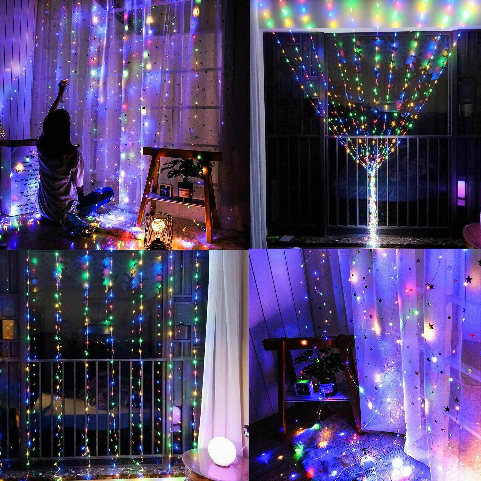 300LED Wedding Fairy Lights USB Light w/Remote Control