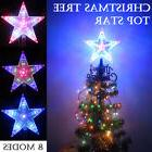 Topper Star Chasing Christmas Tree Top Outdoor Indoor LED Li