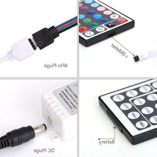 32FT/10M Strip Light 44 Key IR Remote Controller