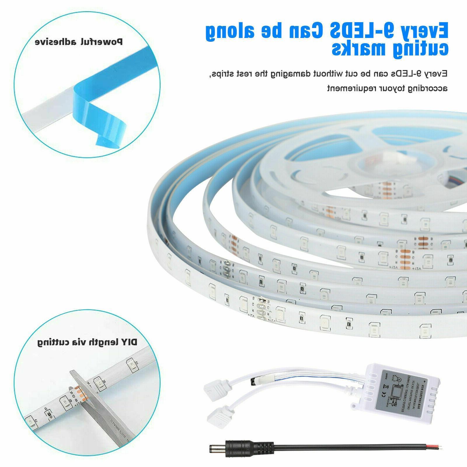 32FT RGB LED Light Remote TV