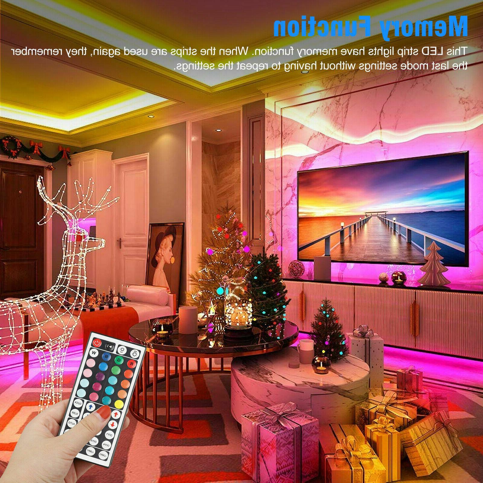 LED Light Remote Lights Room TV Bar