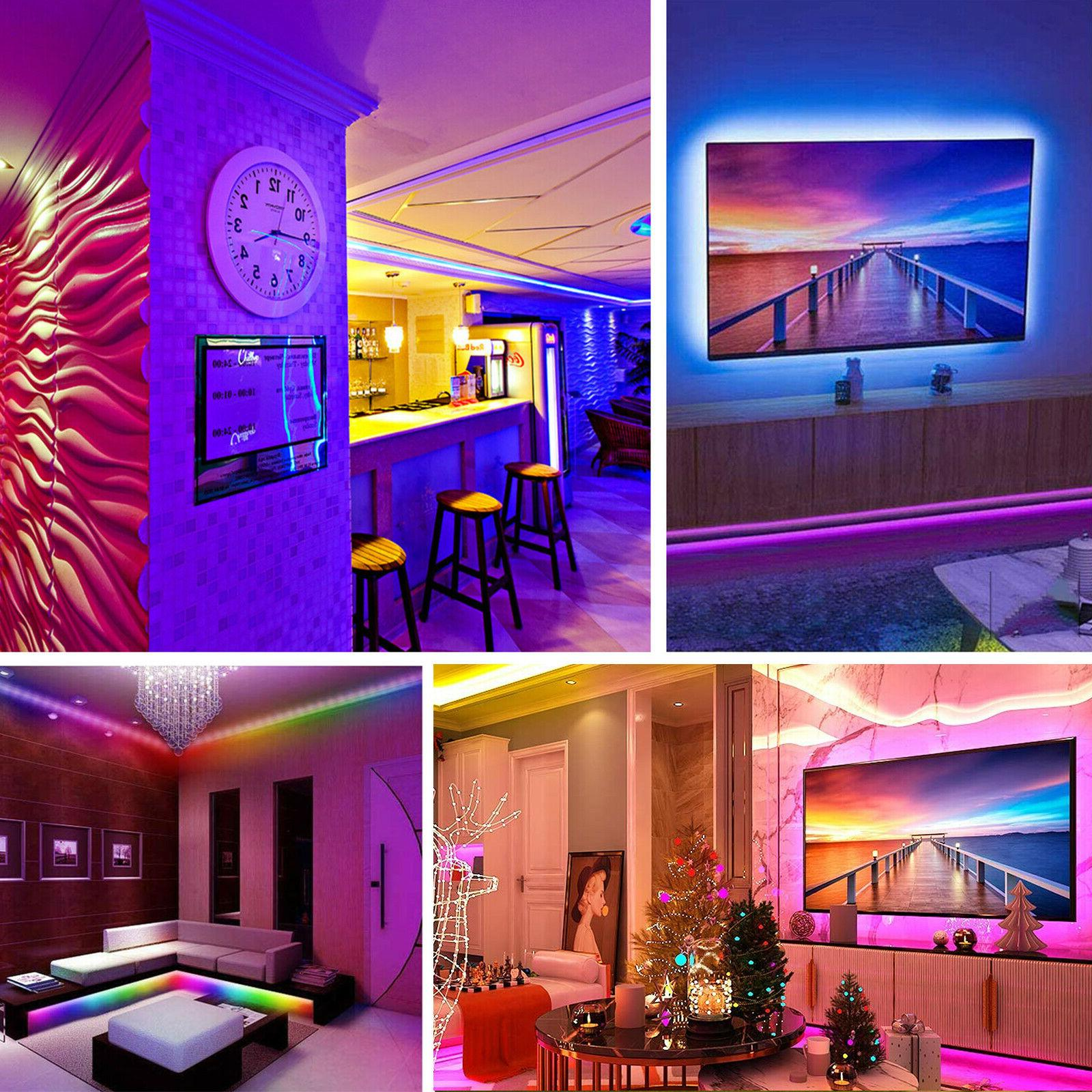 32FT LED SMD Strip Remote Fairy TV Party Bar
