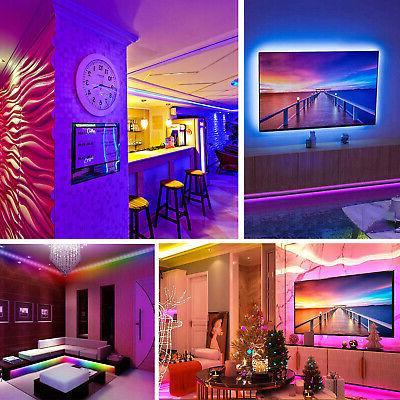 32FT 3528 RGB LED Remote Lights TV
