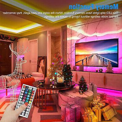 32FT LED SMD Remote Fairy Lights TV