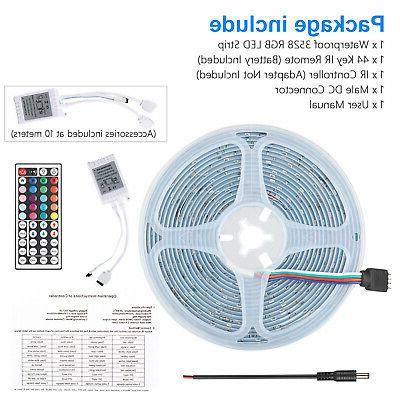 32FT Flexible 3528 LED Strip Remote Fairy TV