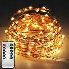 Twinkle Star 33ft 100LED Copper Wire String Lights Fairy Str