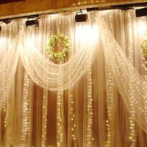 3M/6M LED Window Curtain Icicle Lights Party