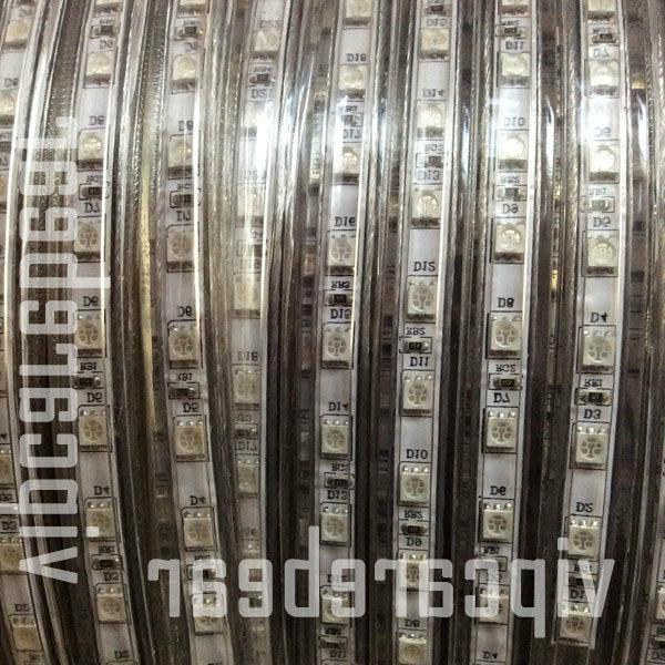 3ft-100ft 110V 5050 SMD Strip Rope Light 60/M IP68+