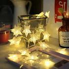 3M 20LED Star String Fairy Lights Christmas Wedding Decorati