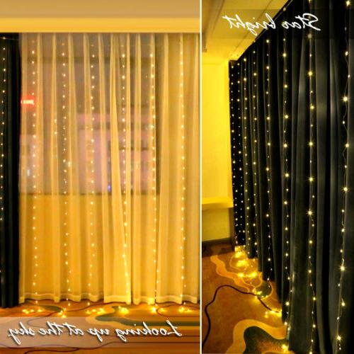 3M 3M Waterproof USB LED Home Curtain String Remote Control