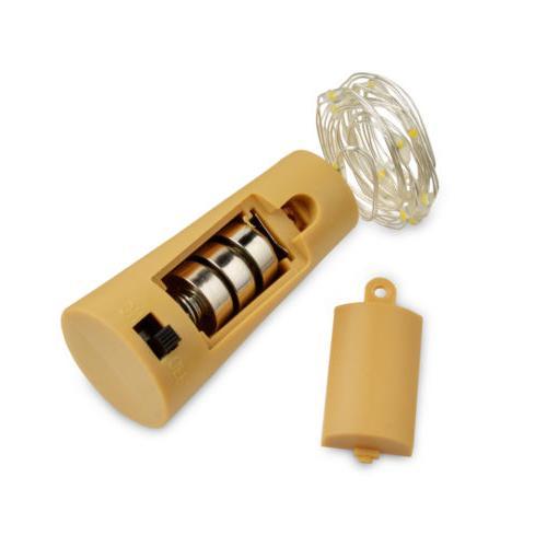 3pcs Wine Bottle Cork Lights Copper Led Light Strips Lamp DIY for Decor