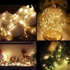 4 pack 20 LED String Fairy Lights Copper Wire Battery Power