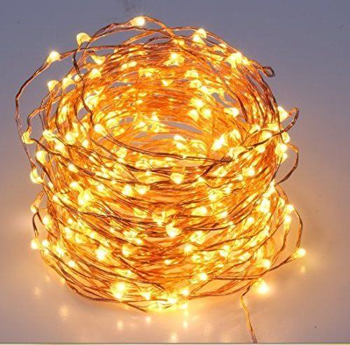 40 Feet Lights White Color LED's on Copper Wire