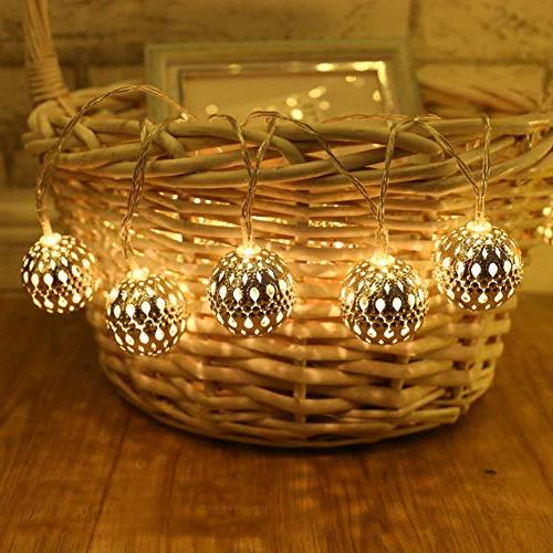 Twinkle Star 40 Lights, Hanging Decor Indoor, Home, Bedroom, Party, Wedding, Tree