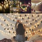 40 LEDs Photo Hanging String Lights Picture Display Lamp Wed