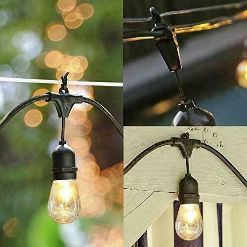 Outdoor Garden Yard 48ft Commercial Bulbs