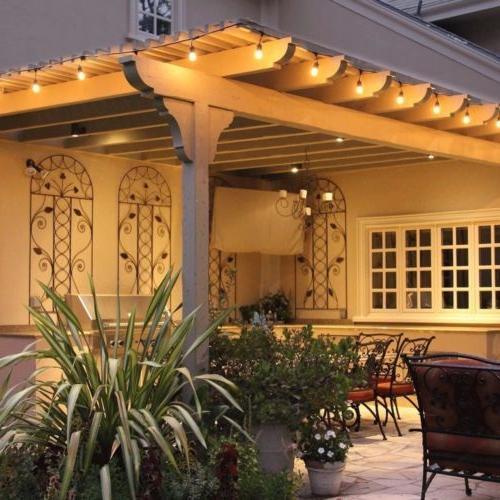 48FT Waterproof Commercial Grade Patio Lights Outdoor