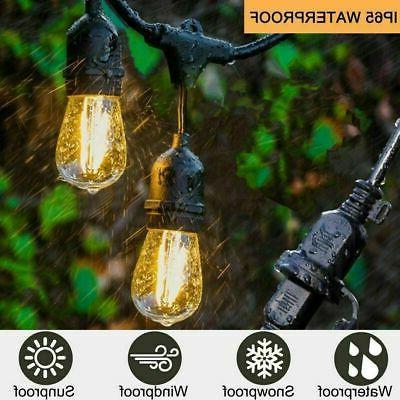 48FT Bulbs String Garden Lighting