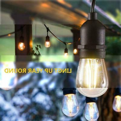 48FT Edison Bulbs String Garden Lighting