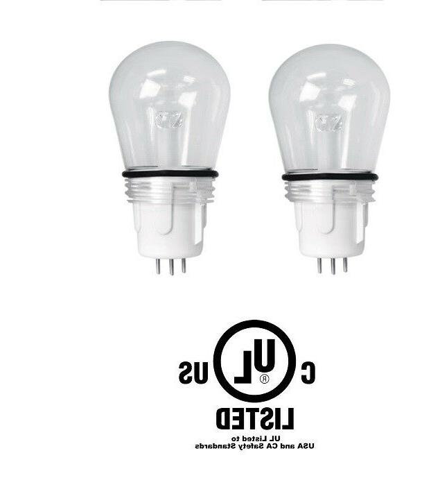 2 Feit Electric REPLACEMENT Light Bulb S14 11W Dimm RGBW LED