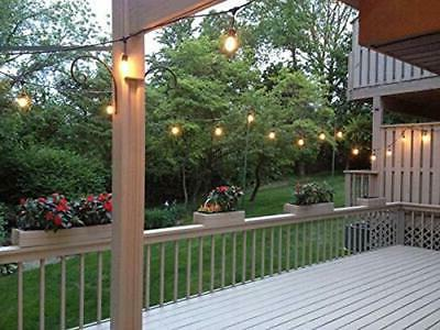 48FT Outdoor String Edison Bulbs