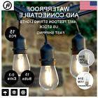 48ft LED String Lights Outdoor Patio Globe Weatherproof Brig