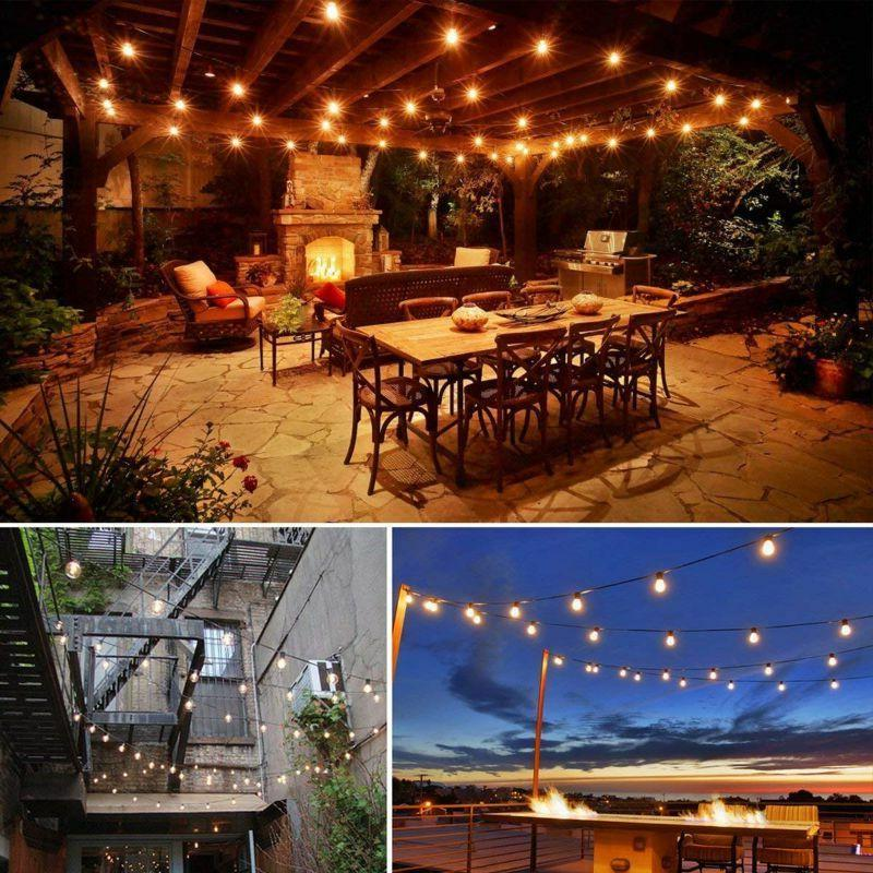 48ft Lights Electric S14 Cafe Garden