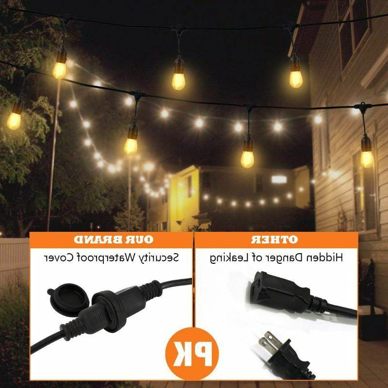 48ft Outdoor LED S14 Cafe Garden