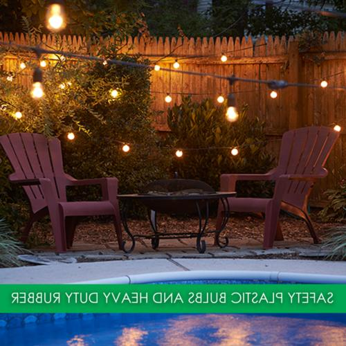 48FT String Lights Outdoor Party US