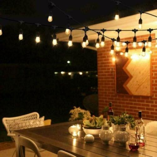 48FT Lights Fairy Outdoor Party Waterproof