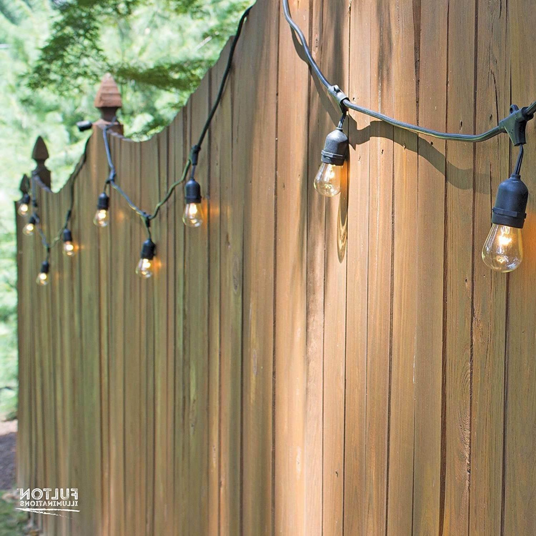 48FT Outdoor Lights Waterproof Yard Bulbs