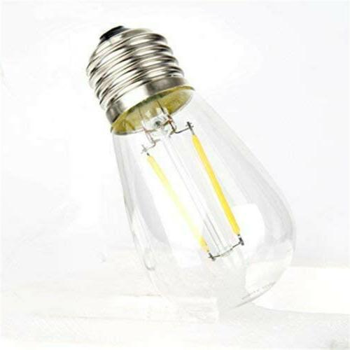 48ft Outdoor Lights Waterproof Fairy Bulbs