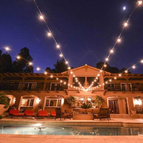 48ft Outdoor Waterproof Commercial Fairy Light Bulbs