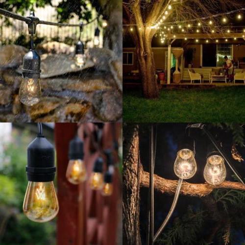 48ft Waterproof Fairy Light Bulbs
