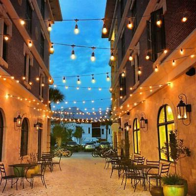 48ft Outdoor Waterproof Commercial Patio Fairy Bulbs