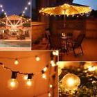 49ft LED String Light G40 Globe Bulb Outdoor Waterproof Home