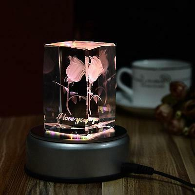 4inch unique round crystal display base stand