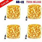 4x 100M 500 LED Christmas Tree Fairy String Party Lights Lam