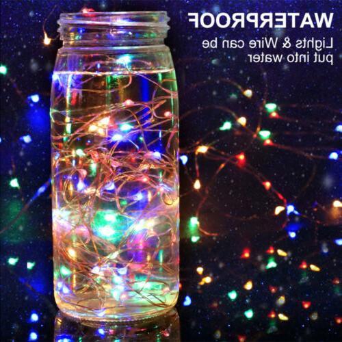 5/10/20M LED String Lights Xmas