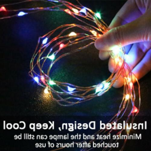 5/10/20M Copper String Lights Xmas