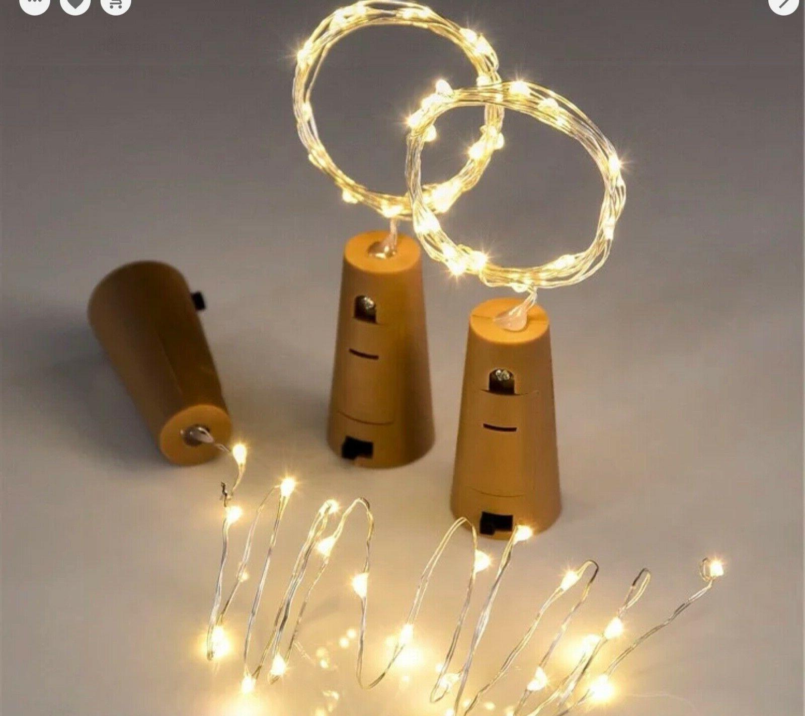 LED Battery Cork Party Wedding 2M
