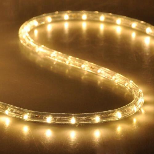 50'/100'/150'/300ft Rope Indoor Outdoor Cuttable Lights