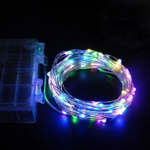 50/100 LED String Lights Decor