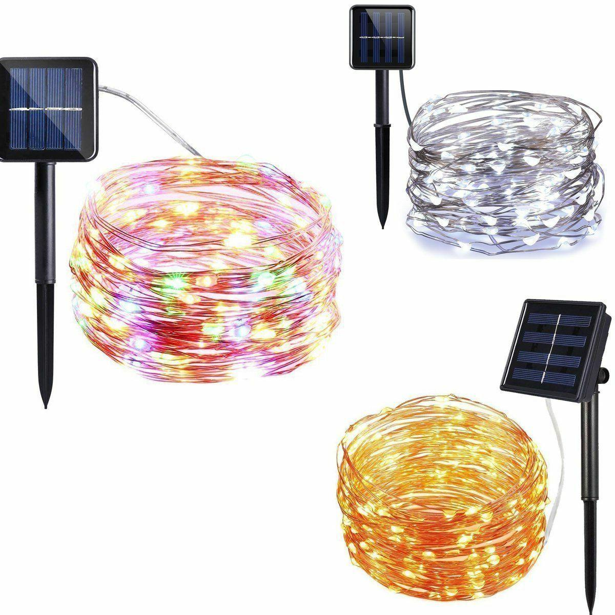 50-200 LED Solar Power Party