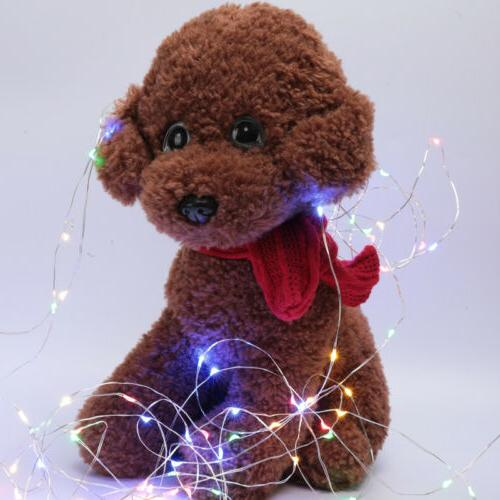 50/100LED Wire String Lights Lights with 8