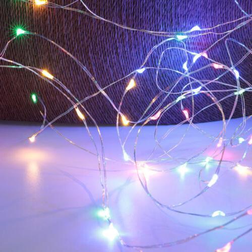 50/100LED Lights Remote 8 Modes