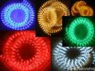 50 Feet Chasing 110V LED Rope Lights red blue green cool whi