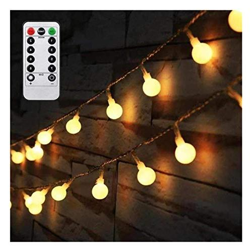50 globe string lights battery