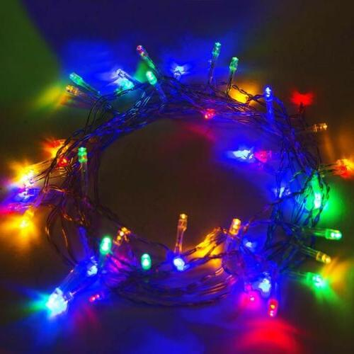 50 battery operated string lights