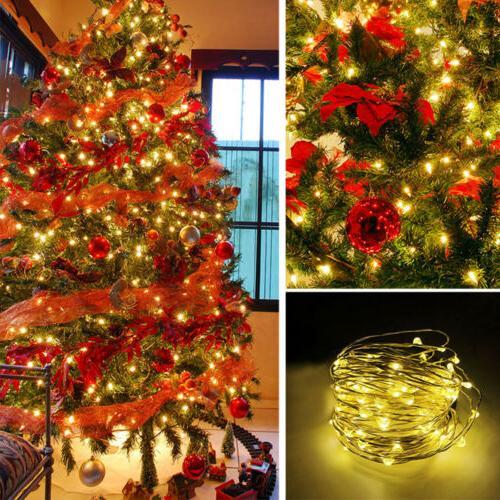 500LED String Lights Christmas Waterproof Wedding Decor